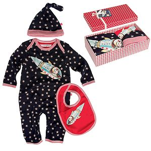 Boxed Baby Romper Suit Gift Set - baby care