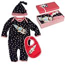 Boxed Baby Romper Suit Gift Set