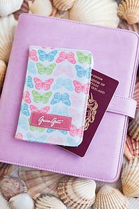 Butterfly Passport Cover