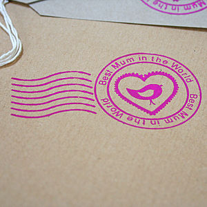 'Best Mum' Hand Printed Wrapping Paper - wrapping