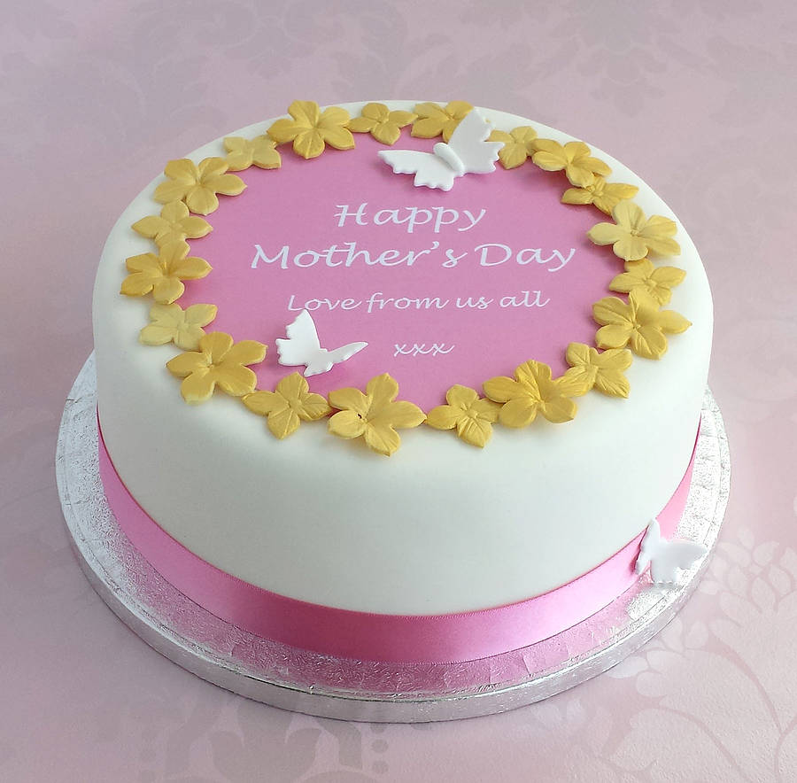 personalised mother s day cake decoration kit by clever little cake kits notonthehighstreet.com