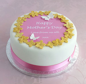 Personalised Mother's Day Cake Decorating Kit - baking
