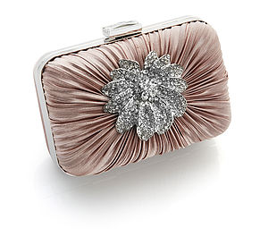Vintage Hard Case Clutch Bag - 'mother of the bride' fashion and accessories