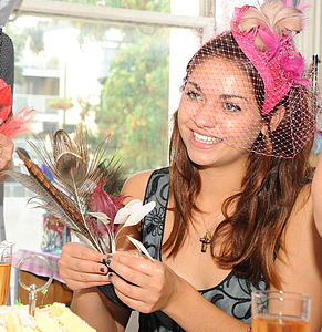 True Romantics Headpiece Hen Party Workshop - experiences