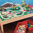 Train Table And Train Set