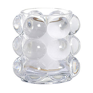 Bubble Glass Candle Holder - table decorations