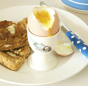 A Pair Of Egg Cups - egg cups & cosies