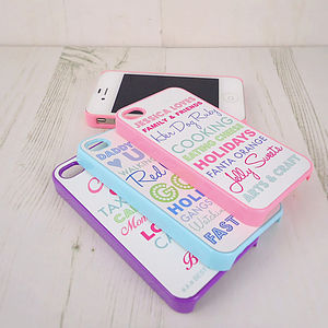 Coloured iPhone Case - leisure