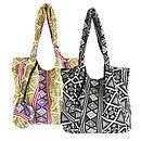 Pattern Jogi Shopper Beach Bag With Purse