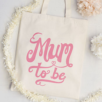 'Mum To Be' Tote Bag