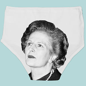 Ladies Political Pants Thatcher