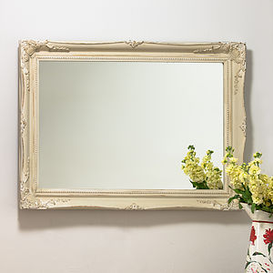 Mirror Expertly Hand Painted In Your Colour Choice - mirrors
