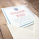 Personalised Party 'Thank You' Cards