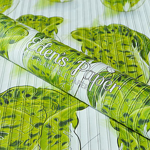Gem Lettuce 100% Plantable Wrapping Paper