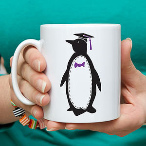 Personalised Penguin 'Teacher' Mug - sale by room
