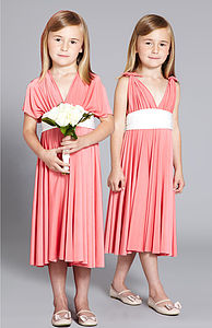 Girl's Multiway Bridesmaid Dress