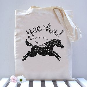 Horse Tote Bag - bags & purses