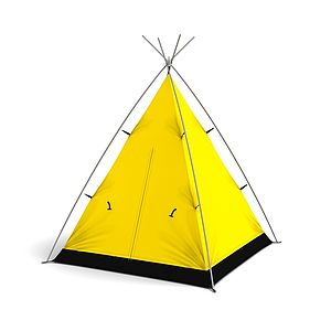 Little Campers Classic Colour Play Teepees - tents, dens & wigwams
