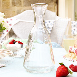 Honey Bee Glass Carafe - dining room