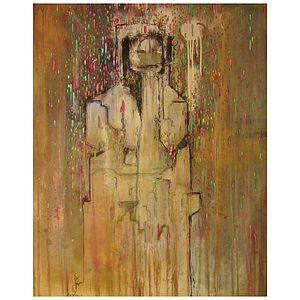The Rainmaker Original Painting - home accessories