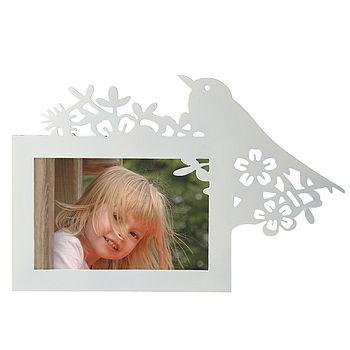 Cream Bird Photoframe