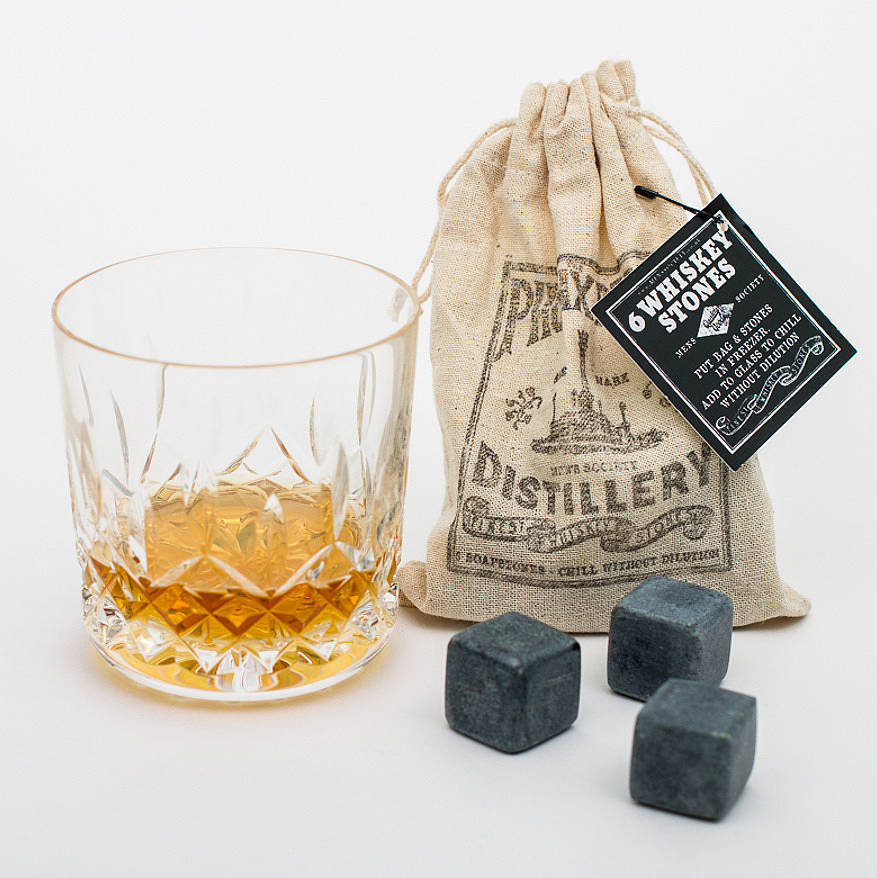Gifts Made Of Stone : Whiskey stones by men s society notonthehighstreet