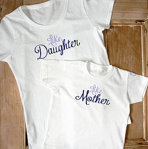 'Like Mother, Like Daughter' T Shirt Set - outfits & sets