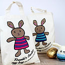 Personalised Easter Character Tote Bag