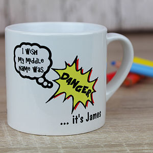Personalised Superhero Mug