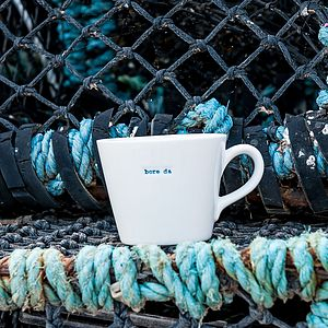 'Bore Da' Mug - mugs