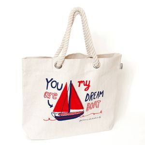 You Are My Dreamboat Beach Bag