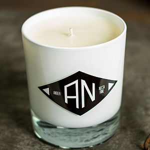 Amber And Necterine 60+ Hour Organic Candle - candles & candlesticks