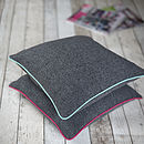Piped Edge Cushion