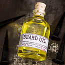 Beard Oil And Face Rag Set