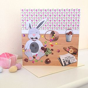 Cheeky Easter Bunny Card - view all easter