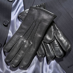 Trent. Men's Handsewn Leather Gloves
