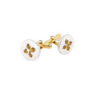 Fleur D'estella Cufflinks Silver - women's accessories