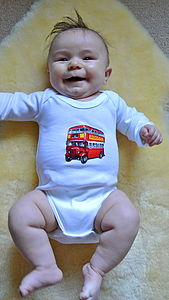 London Baby Bodysuit - clothing