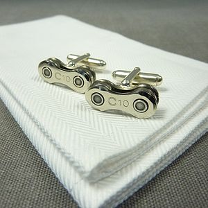 Campagnolo Veloce Bicycle Chain Cufflinks - cufflinks