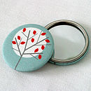 Moonlight Tree Pocket Mirror