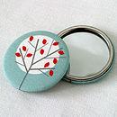 Moonlight Tree Pocket Mirror