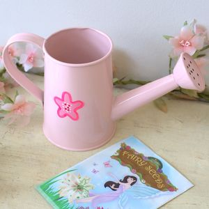 Mini Watering Can With Flower Design - tools & equipment