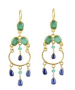 Jelly Kyanite Earrings