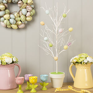Twig And Egg Easter Tree - easter decorations