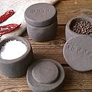 Black Clay Seasoning Pots