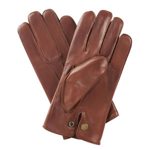 Norton. Men's Warm Lined Leather Gloves