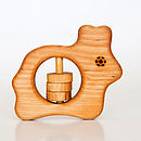Eco Wooden Rattle And Teether