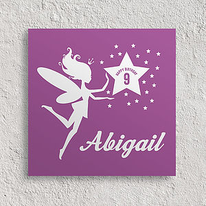 Personalised Birthday Card Fairy - birthday cards