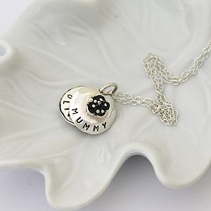 Personalised Mini Flower Locket - gifts from younger children