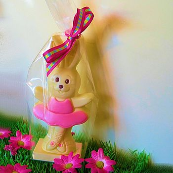 Chocolate Easter Bunny Ballerina